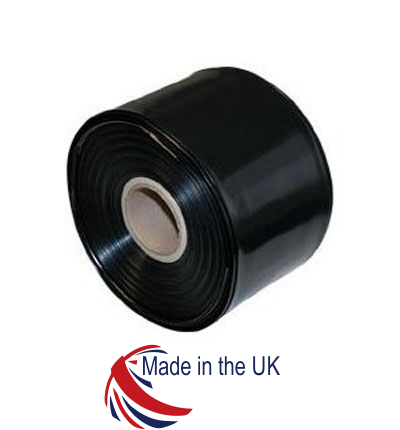 Black Polythene Layflat Tubing