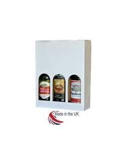 Plain White Bottle Box 330ml 3 Bottle 20/Pack