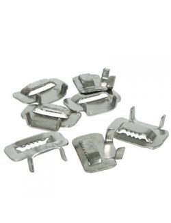 Stainless Steel Buckles 12mm (knockdown) 100/Box