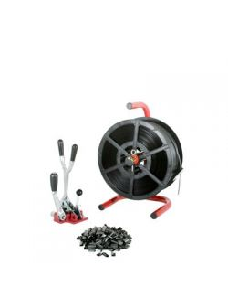 Kit3 Combination Tensioner/Crimper & Dispenser 12mm Strap & Seal