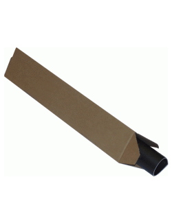 Triangle Postal Tubes 750 x 128 x 128mm 100/Pack