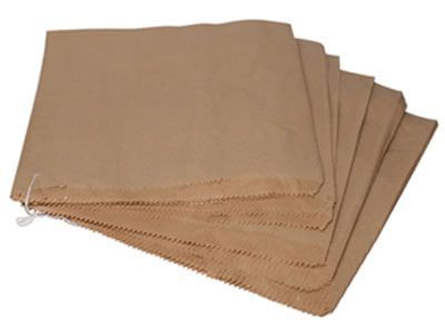 Brown Kraft Bags 355mm X 455mm 500's