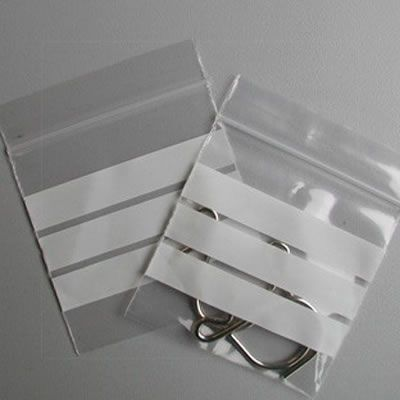 Clear Grip Seal Bags With (WOP) (G124) 112mm X 112mm 1000's