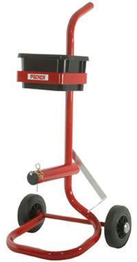 Mobile Dispenser With Tool & Seals Tray For Pp Strap On Plastic