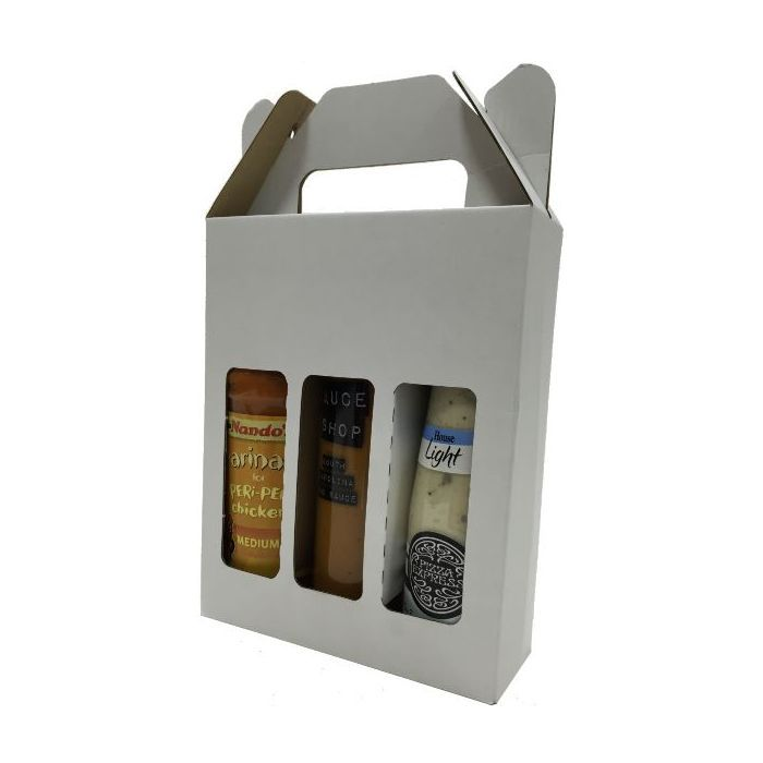 Sauce Bottle Box 20/Pack - 160mm x 51mm x 196mm