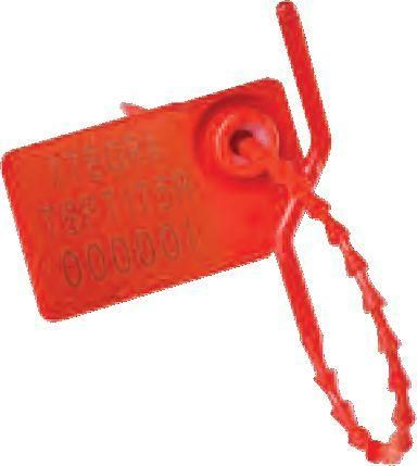 Tamper Evidence Security Seals - Pull Up Seal - 100/Pack