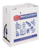 Strap & Buckle Kit 600m x 12mm strap with 200 plastic buckles