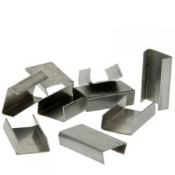 13mm Steel Strap Heavy Duty Snap On Seals (1000 Per Box)