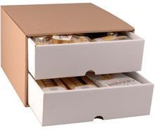 2 Drawer Hamper Box 10/Pack