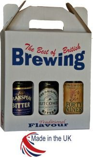 Printed Best of British Brewing 3 Bottle 500ml Bottle 20/Pack