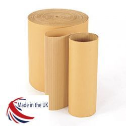 Corrugated Paper Rolls 450mm X75m