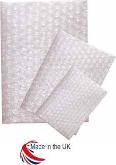100mm x 135mm Flush Top Bubble Bags 750/Box