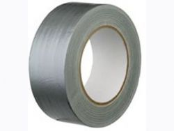 Silver Polycoated Cloth Tape (Gaffa Tape)