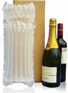 Single Bottle Inflatable Bag And Box 50/Pack