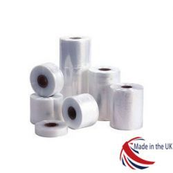 "Clear Polythene Layflat Tubing 62mm (2.5"")"