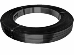 Mill Wound (Oscillated) Steel Strapping - Black