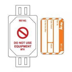 Pat Testing Tags 20 x Holders And 20 x Inserts