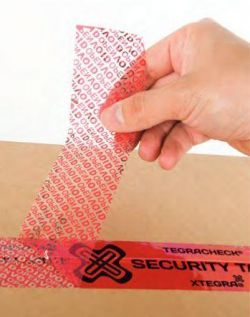 Tamper Evidence Security Tape 48mm x 50m Price Per Roll