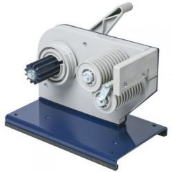 Lever operated bench dispenser
