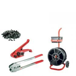 Kit-4 Tensioner / Crimper & Mobile Dispenser 12mm Strap & Seals