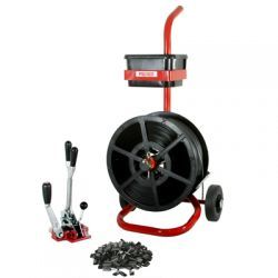 Kit6 Combination Tensioner/Crimper & Dispenser 12mm Strap & Seal