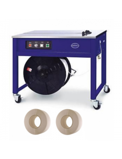 Semi Automatic Strapping Machine + 2 Polypropylene Machine Strapping Rolls