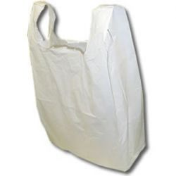 Vest Style Carrier Bags (WV-FAL1) 250 x 375 x 450mm 2000/Box