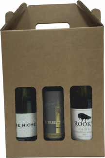 Wine Bottle Box 20/Pack - Max Diameter 75mm