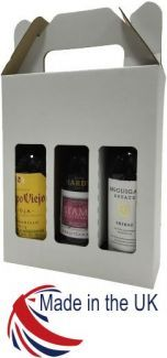Small Wine Bottle Box 20/Pack - For 187ml Wine Bottles