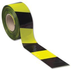 Yellow & Black Floor Marking Tape