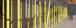 Yellow Scaffold Post Protectors 48mm ID x 10mm Wall x 2m Long 50 Pieces